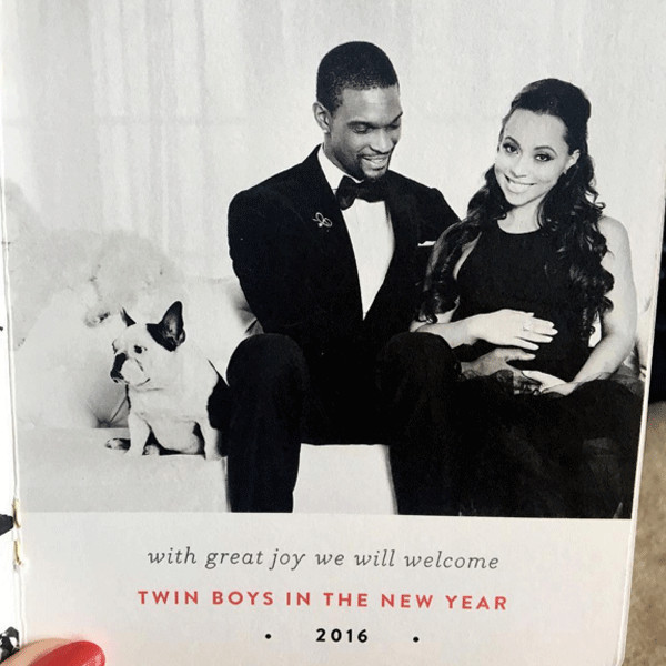 Chris Bosh, Adrienne Bosh, Christmas 2015