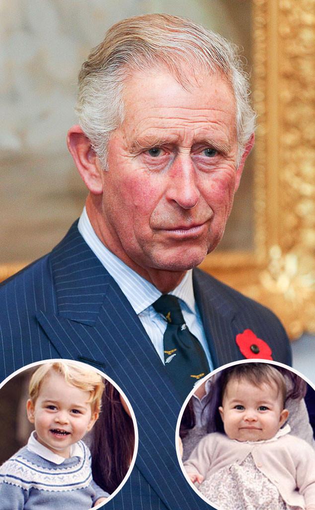 Prince Charles, Prince George, Princess Charlotte