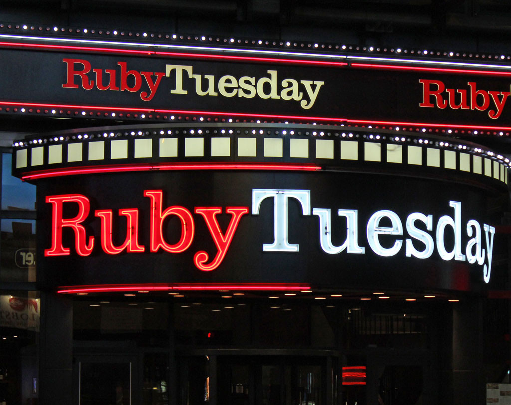Ruby Tuesdays, Time Square
