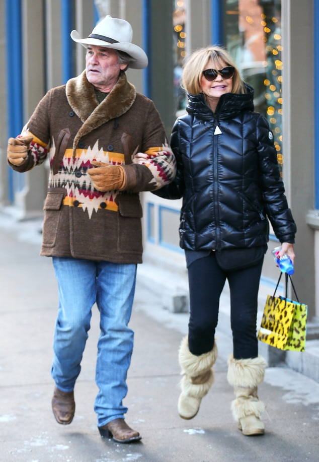 Kurt Russell & Goldie Hawn from The Big Picture: Today's Hot Photos | E! News