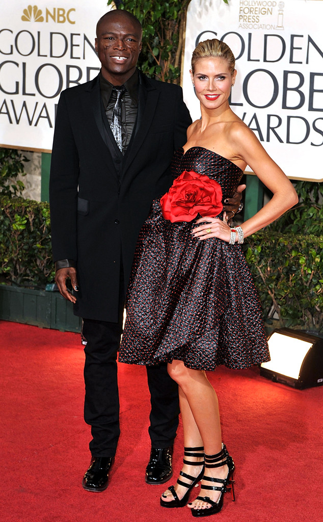 Couples, 2009 Golden Globes, Heidi Klum, Seal