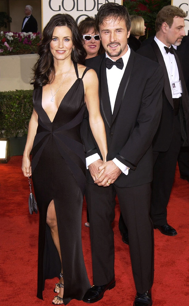 Courteney Cox & David Arquette from Golden Globes Couples ...