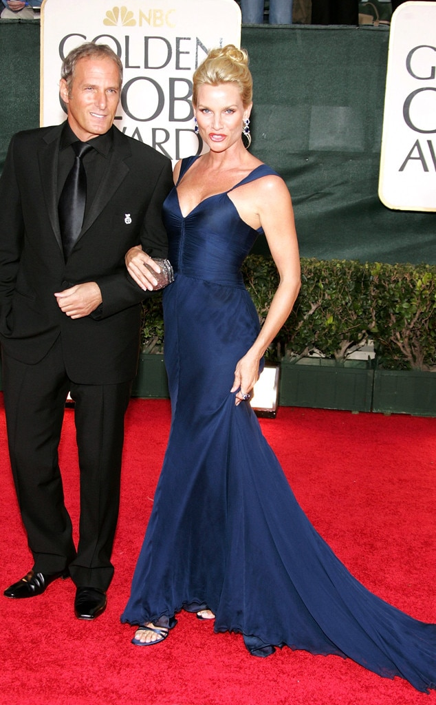 Michael Bolton & Nicollette Sheridan from Golden Globes ...
