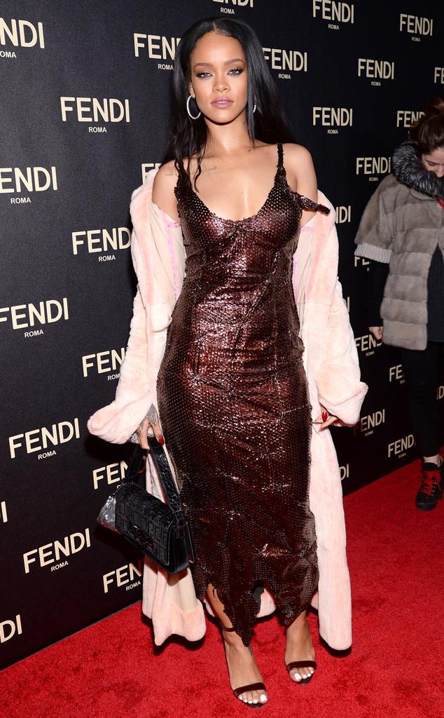Rihanna, 2015 NYFW, Fendi