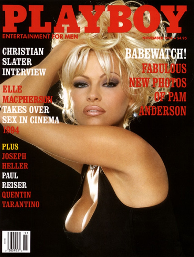 November 1994 From Pamela Andersons Playboy Covers  E News Uk-6469