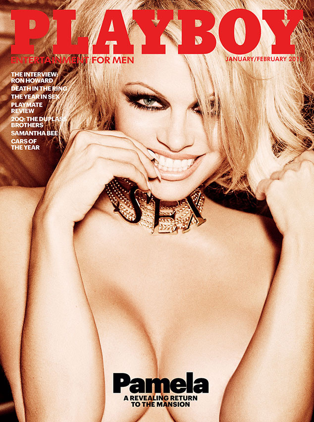 Pamela Anderson Will Cover The Last Nude Issue Of Playboy -1936