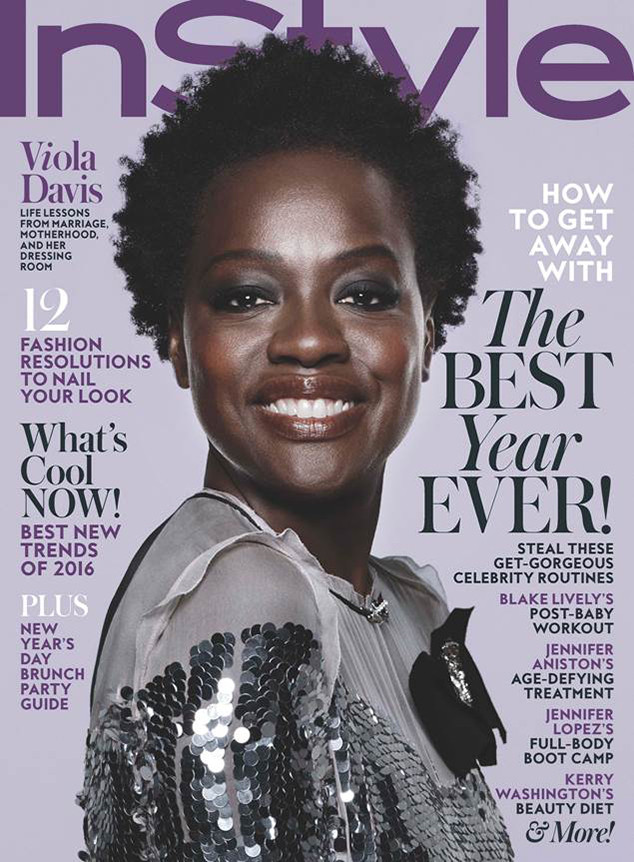 Viola Davis, InStyle Magazine