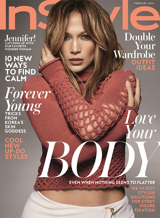Jennifer Lopez, InStyle Magazine February 2016 Cover