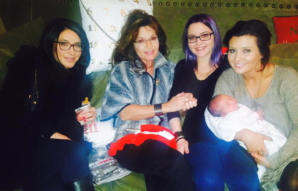Bristol Palin, Sarah Palin, Willow Palin, Piper Palin, Sailor Palin