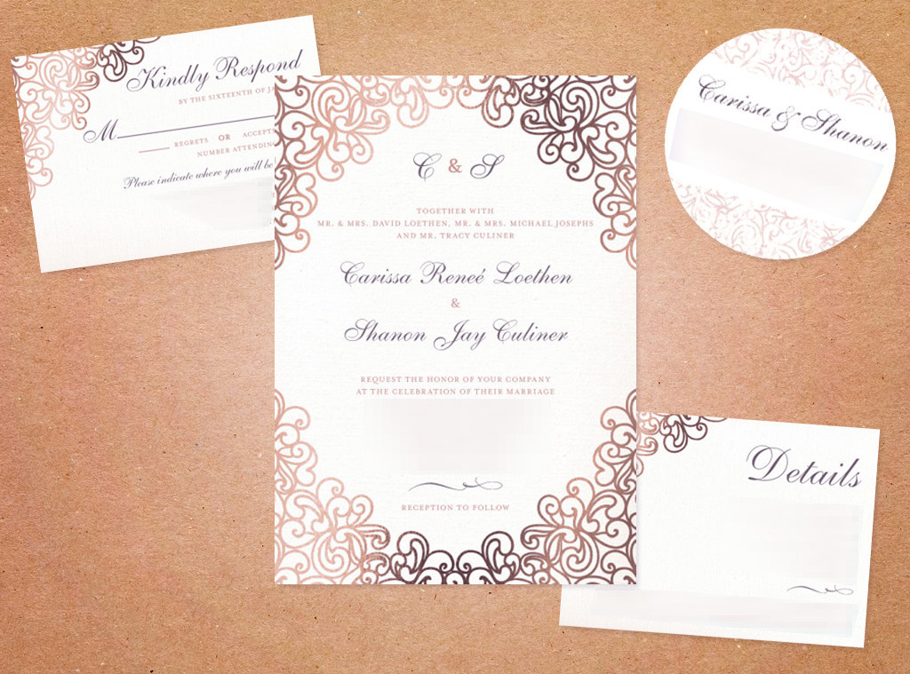 Carissa Loethen Bridal Blog: Wedding Invitations