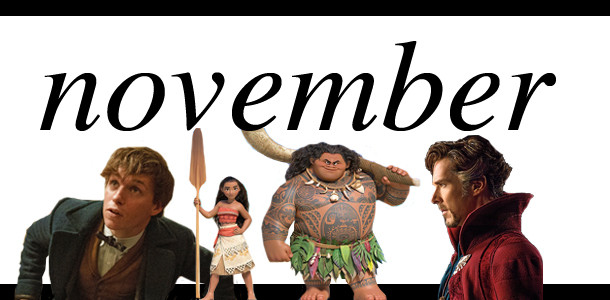 Movie Months November