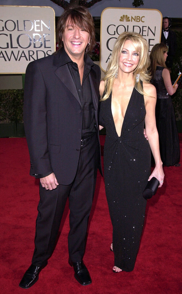 Flashback: Couples at the Golden Globes, Richie Sambora, Heather Locklear