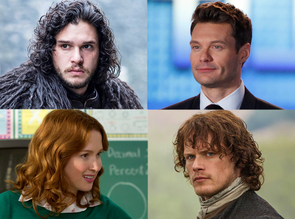 Outlander, Unbreakable Kimmy Schmidt, American Idol, Game of Thrones