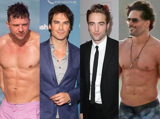 Ryan Phillippe, Ian Somerhalder, Robert Pattinson, Joe Manganiello