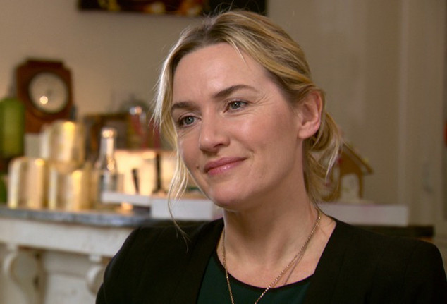 Kate Winslet, CBS Sunday Morning