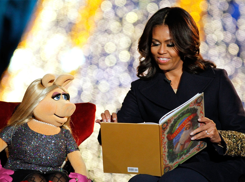 Michelle Obama, Miss Piggy