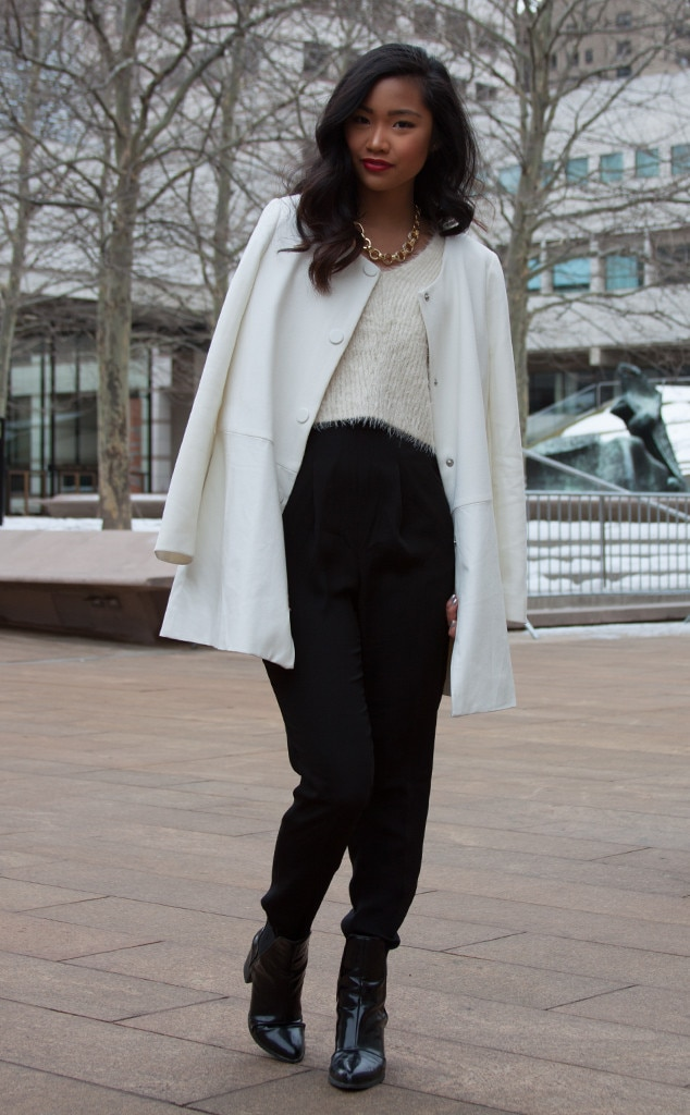 Bianca Diwa From Street Style At New York Fashion Week Fall 2015 E News Canada