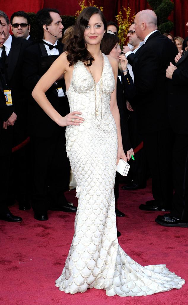 Marion Cotillard, Oscars, Dresses, 2008