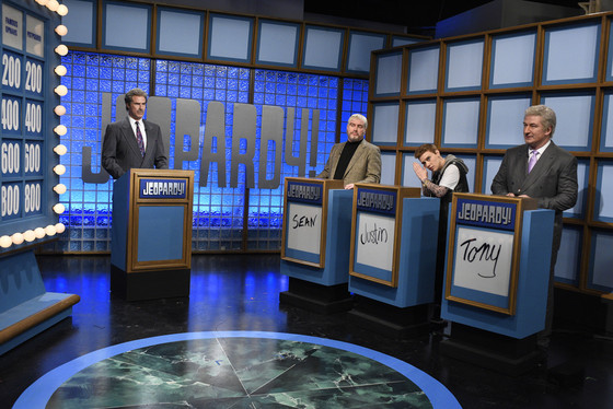 Celebrity Jeopardy, SNL 40th Anniversary Celebration