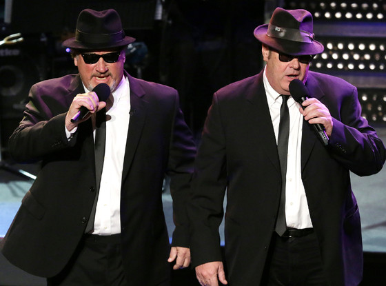 Jim Belushi, Dan Aykroyd, SNL 40th Anniversary Celebration