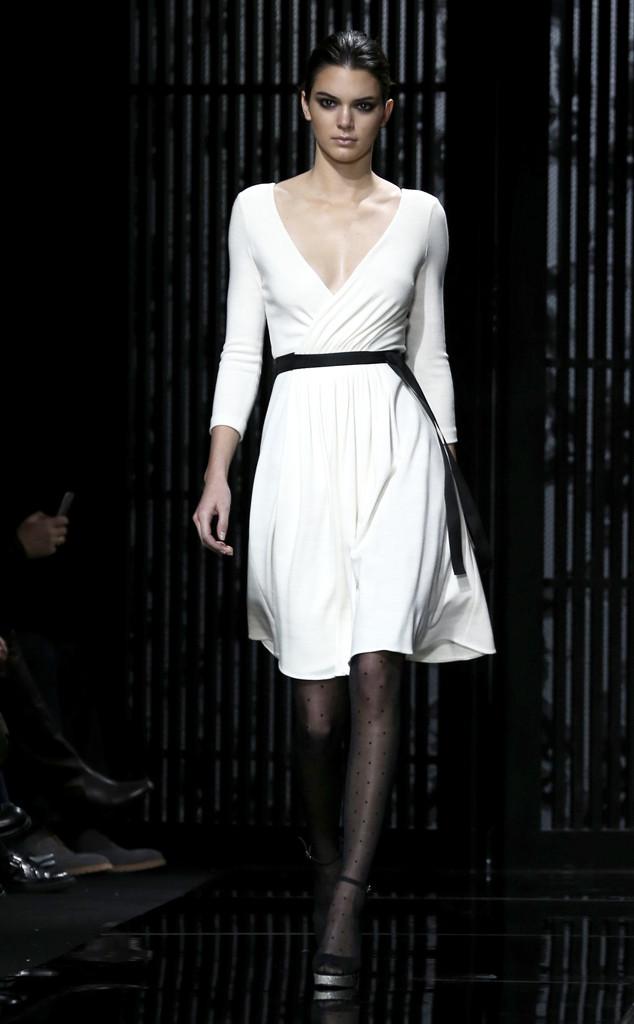 Kendall Jenner, Diane Von Furstenberg, NYFW