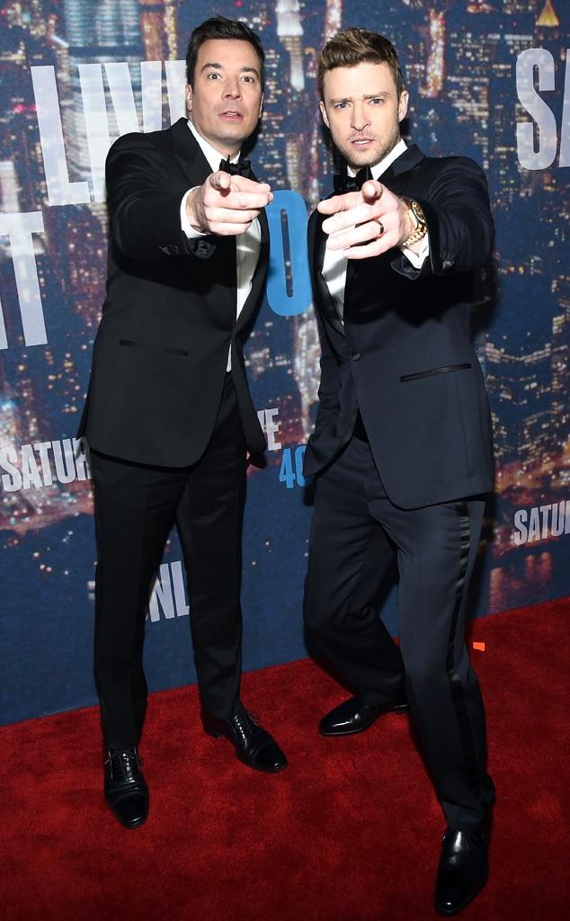 Timberlake fallon impression snl celebrity