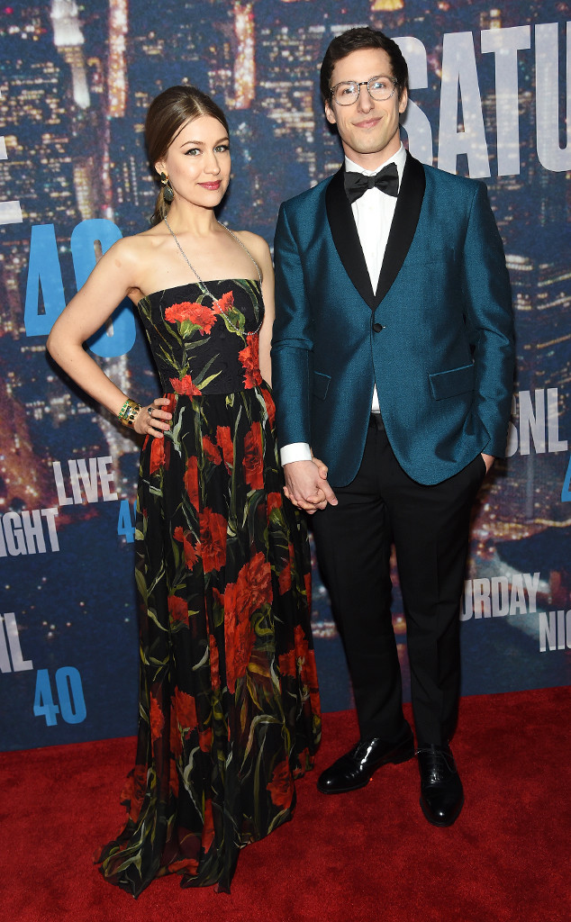 Andy Samberg, Joanna Newsom, SNL 40th Anniversary Celebration
