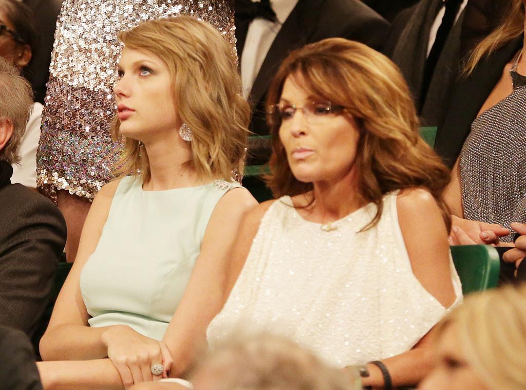 Taylor Swift, Sarah Palin