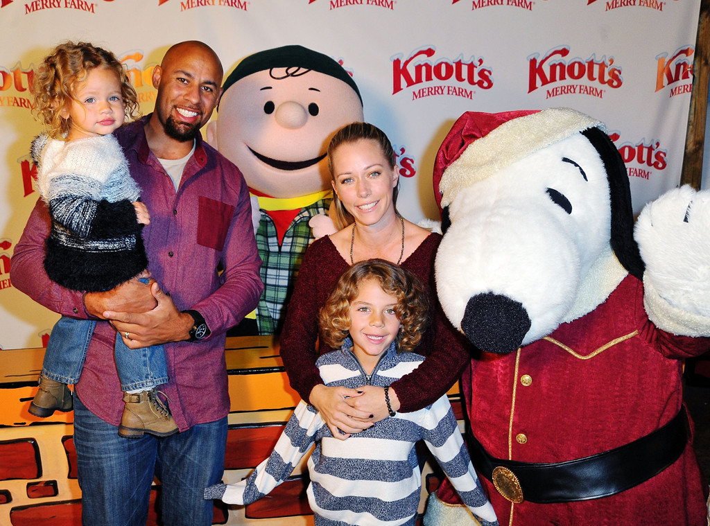 Hank Baskett, Hank Baskett IV, Alijah Mary Baskett, Kendra Wilkinson