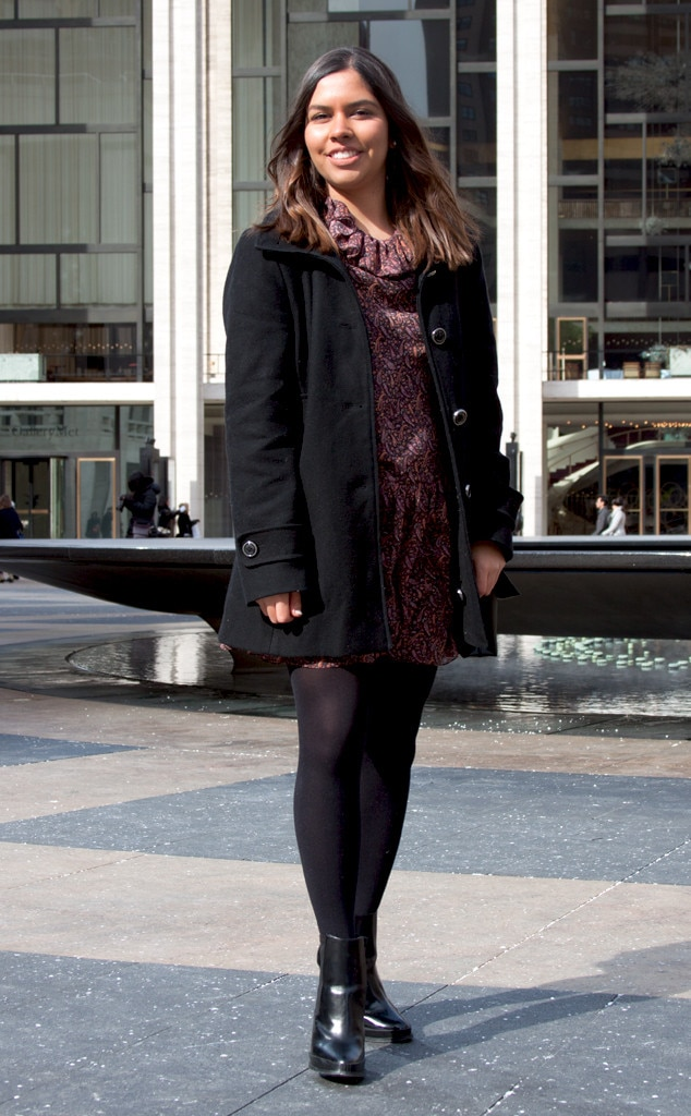 Andrea Malo From Street Style At New York Fashion Week Fall 2015 E News Uk