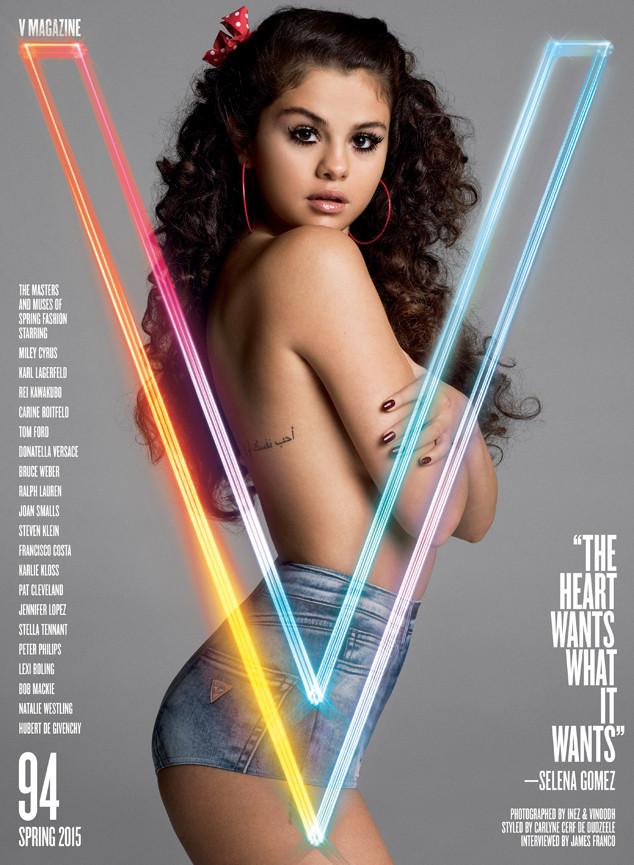 Selena Gomez, V Magazine