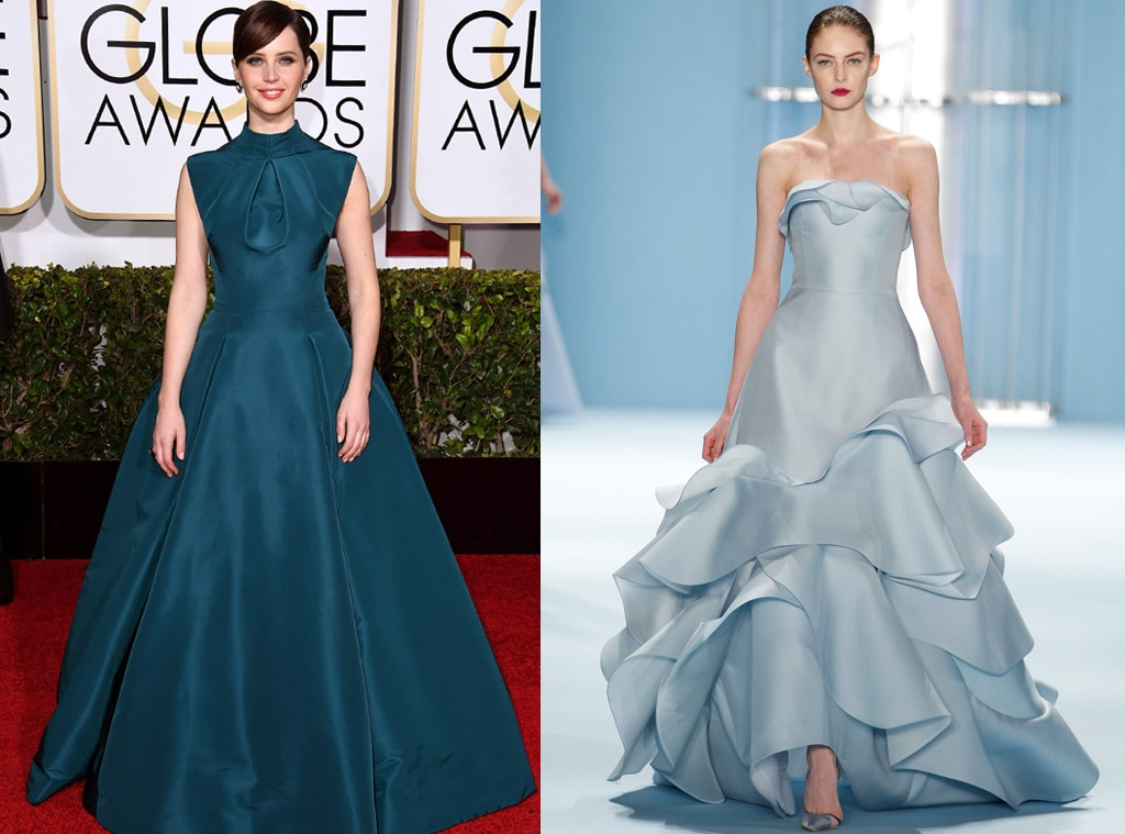 Felicity Jones from 2015 Oscar Gown Predictions | E! News