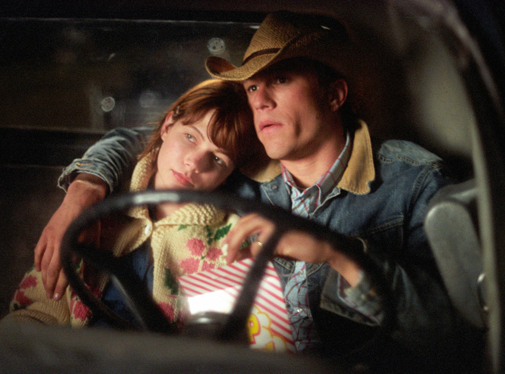 Heath Ledger, Michelle Williams, Brokeback Mountain