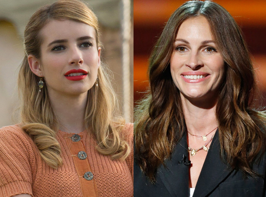 emma roberts understands why julia roberts never wants to be on