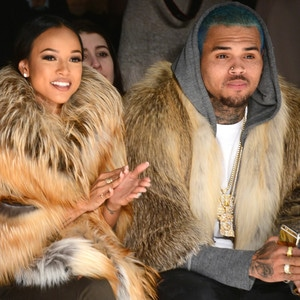 Karrueche Tran, Chris Brown, NYFW