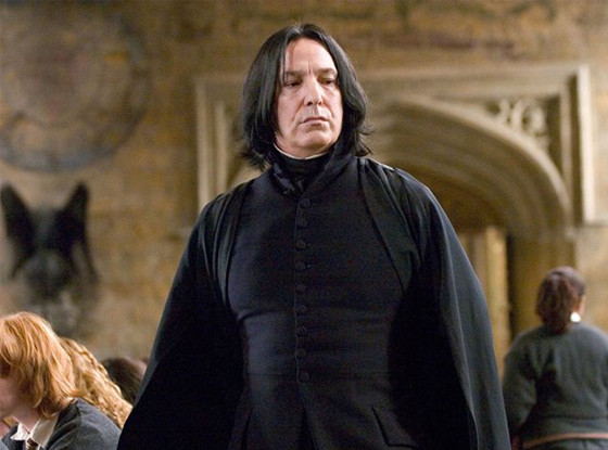 Alan Rickman, Harry Potter, Snape