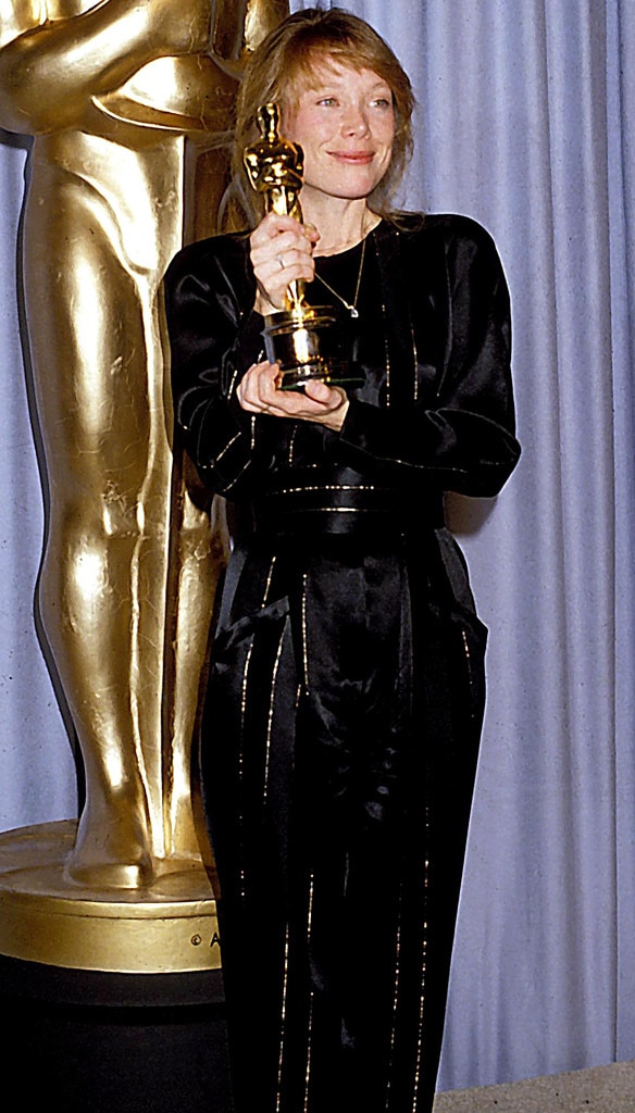 Sissy Spacek from 50 Years of Oscar Dresses: Best Actress ...
