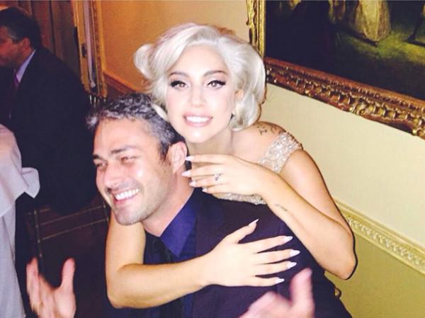 Taylor Kinney, Lady Gaga, Instagram