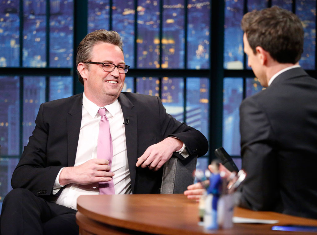 Matthew Perry, Late Night With Seth Meyers