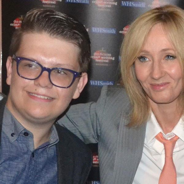 J.K. Rowling, Johnnie Blue, Twitter