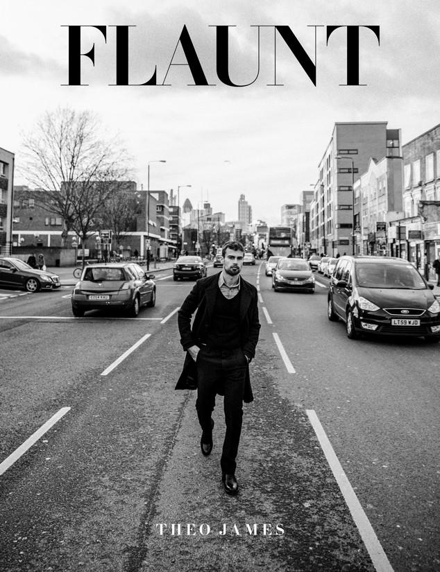 Theo James, Flaunt