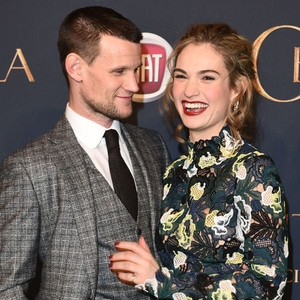 Matt Smith, Lily James