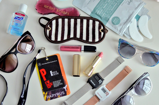 E! Style Collective, NYFW Survival Bag