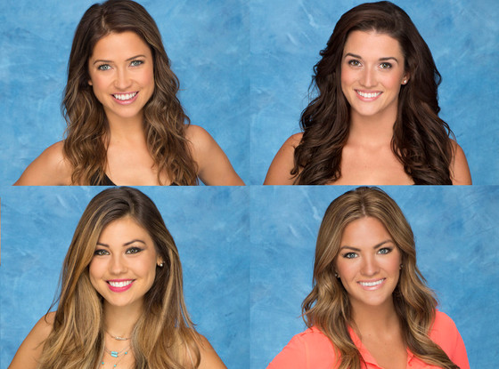 Kaitlyn, Jade, Britt, Becca, The Bachelor, Season 19