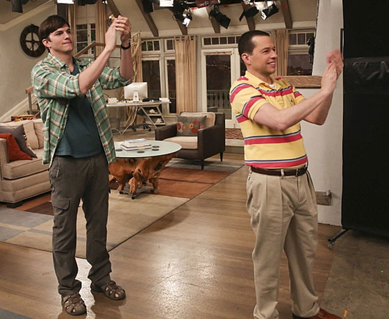 Two and a Half Men, Ashton Kutcher, Jon Cryer