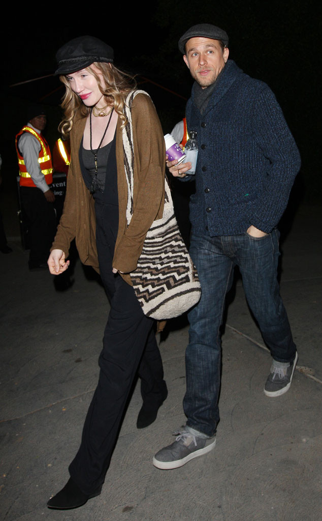 Charlie Hunnam, Morgana McNelis, Jennifer Klein Party