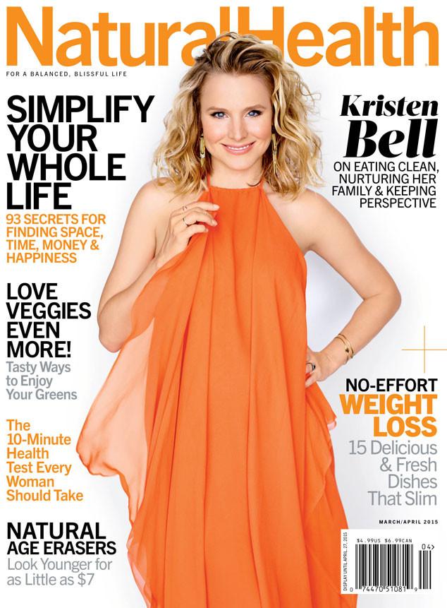 Kristen Bell, Natural Health Magazine
