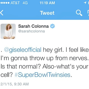 Sarah Colonna, Super Bowl Diary