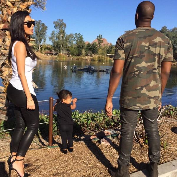 North West, Kim Kardashian, Kanye West, Instagram