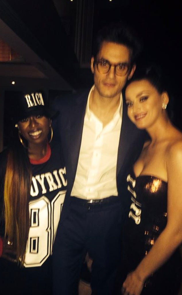 Missy Elliott, John Mayer, Katy Perry